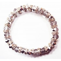 Bracelet élastique en cristal