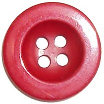 10 Boutons taupes nylon en 15, 18 mm