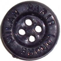 10 Boutons argent en 15, 18 mm