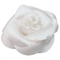 Broche mariage fleur blanche