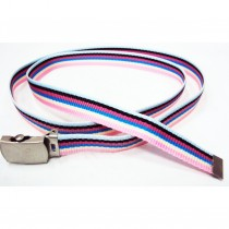 Ceinture sangle multicolore