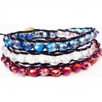 Bracelet Chan Luu tricolore -pièce unique-