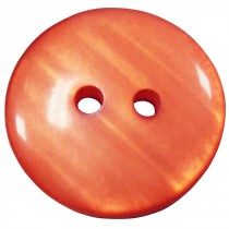 20 Boutons orange-saumon en 18 mm