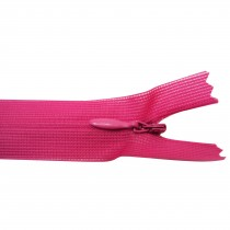 10 Fermetures invisibles NYLON en 20, 35, 50 cm - Fushia