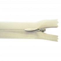 10 Fermetures invisibles NYLON - Sable
