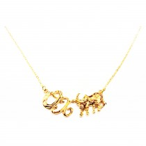 Collier Ox 18K