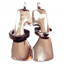 """Pendentifs pour couple """"Only my love"""""""