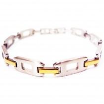 Bracelet acier maillon