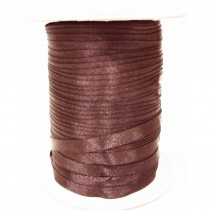 Ruban satin 100M - Marron
