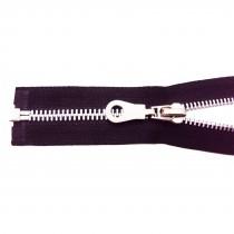 5 Fermetures éclairs 5 mm ALU (Taille 20 à 75 cm) - Noir