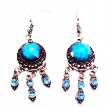 B.O orientales forme ronde - Turquoise
