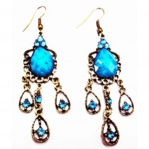 B.O orientales forme goutte - Turquoise