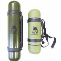 Thermos isotherme à gobelet double