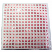 Paquet 10 x 180 puces taille 36