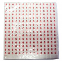 Paquet 10 x 180 puces taille 6