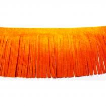 Frange en daim 23M - Orange