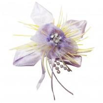 Broche fleur lilas