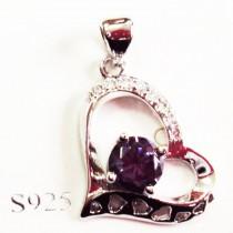 Pendentif S925 Coeur