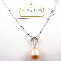 Collier perle de culture S925-04