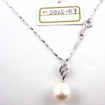Collier perle de culture S925-06