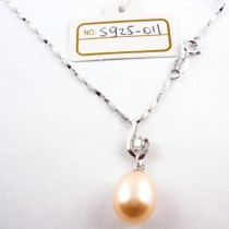 Collier perle de culture S925-011