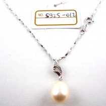 Collier perle de culture S925-012
