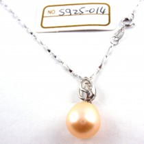 Collier perle de culture S925-014