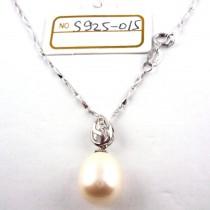 Collier perle de culture S925-015
