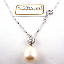 Collier perle de culture S925-016