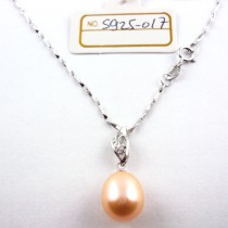 Collier perle de culture S925-017