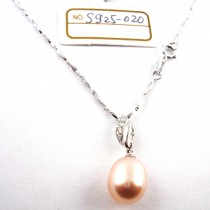 Collier perle de culture S925-020