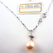 Collier perle de culture S925-021