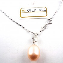 Collier perle de culture S925-022