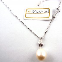 Collier perle de culture S925-023