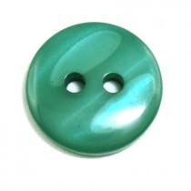 20 Boutons vert en 14 mm