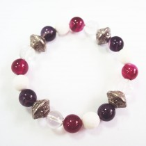 Bracelet antique quartz/agate