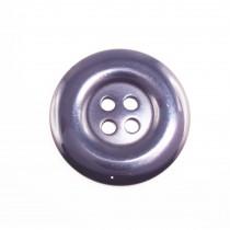 10 boutons en nylon - Bleu