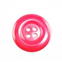10 boutons en nylon - Rouge