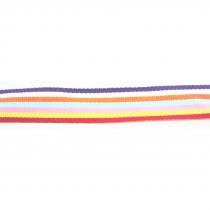 Ruban polyester 50M multicolore