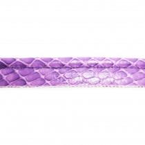 Passepoil motif serpent - Violet