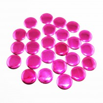 Kit clou rond hotfix 200 pcs en 8 mm - Fuchsia