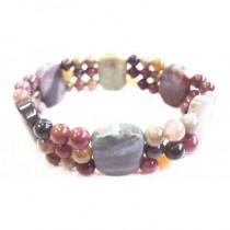 Bracelet jaspe multicolore