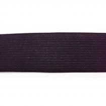 Elastique tissé 25M (diponible en 5 tailles) - Noir