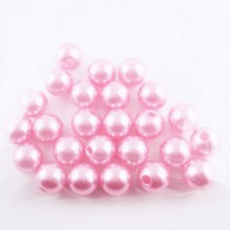 25 Perles de culture en 10 mm - Rose
