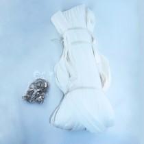 Paquet fermetures 100M - Blanc