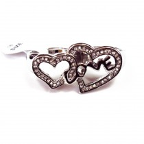 Lot 120 pcs bague coeur (1.50€/pc)