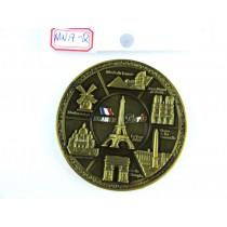 """Magnet aimanté rond """"Paris"""""""