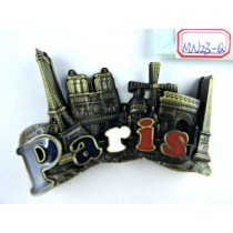 """Magnet aimanté de frigo """"Paris"""""""